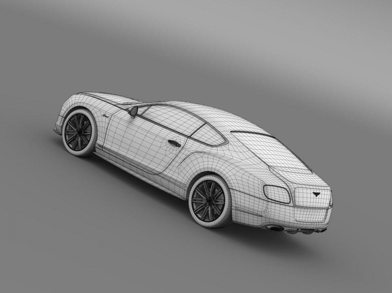 bentley continental gt speed 2014 3d model 3ds max fbx c4d lwo ma mb hrc xsi obj 163517