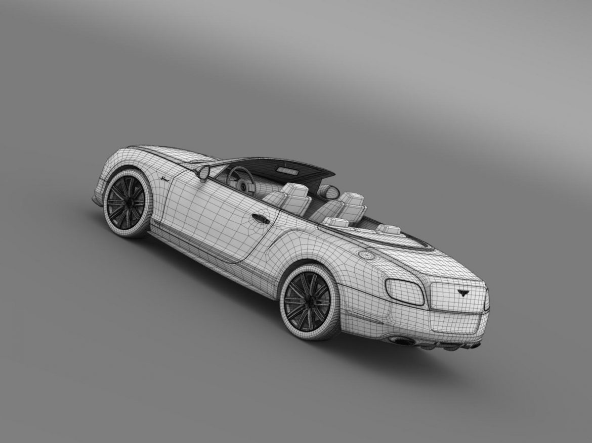 bentley continental gt speed convertible 2014 3d model 3ds max fbx c4d lwo ma mb hrc xsi obj 163880