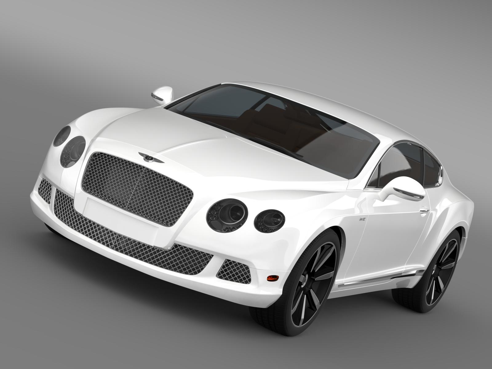 bentley continental gt speed le mans edition 2013 3d model 3ds max fbx c4d lwo ma mb hrc xsi obj 163518