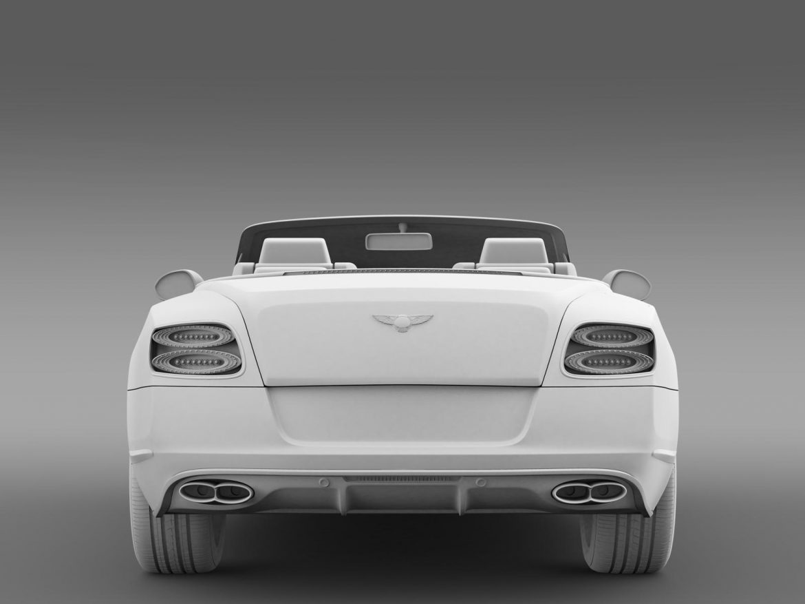 bentley continental gt v8 s convertible 2014 3d model 3ds max fbx c4d lwo ma mb hrc xsi obj 164047