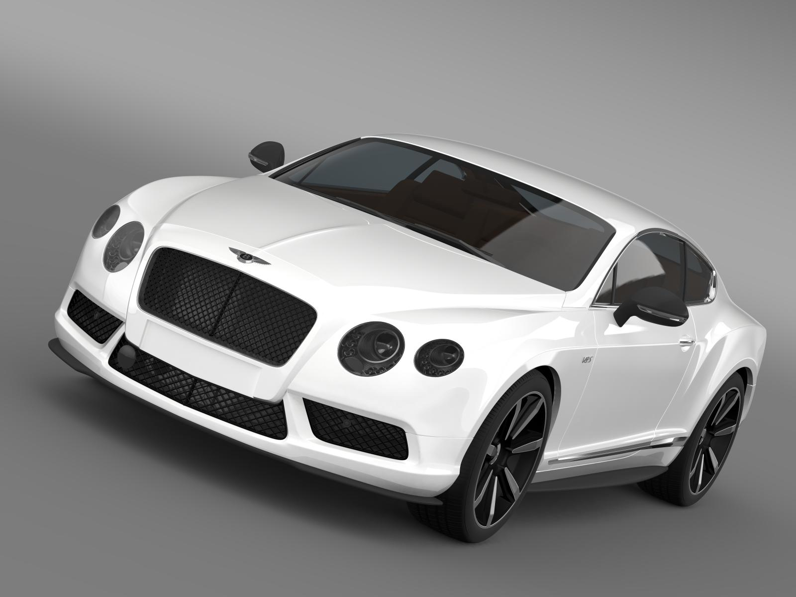 bentley continental gt v8 s coupe 2014 3d model 3ds max fbx c4d lwo ma mb hrc xsi obj 164058