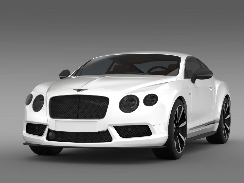 bentley continental gt v8 s coupe 2014 3d model 3ds max fbx c4d lwo ma mb hrc xsi obj 164060