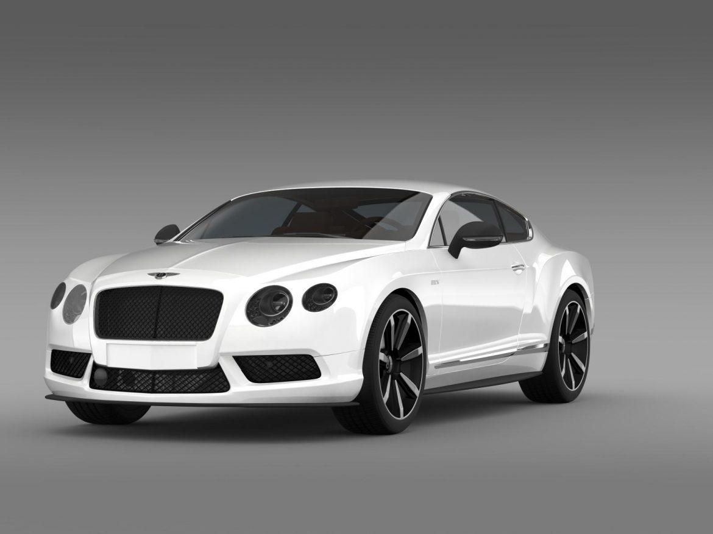 bentley continental gt v8 s coupe 2014 3d model 3ds max fbx c4d lwo ma mb hrc xsi obj 164061