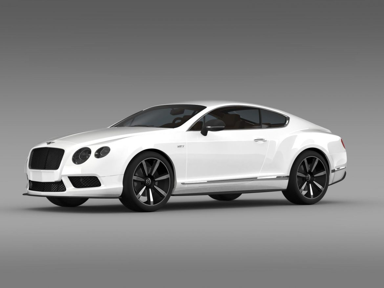 bentley continental gt v8 s coupe 2014 3d model 3ds max fbx c4d lwo ma mb hrc xsi obj 164062