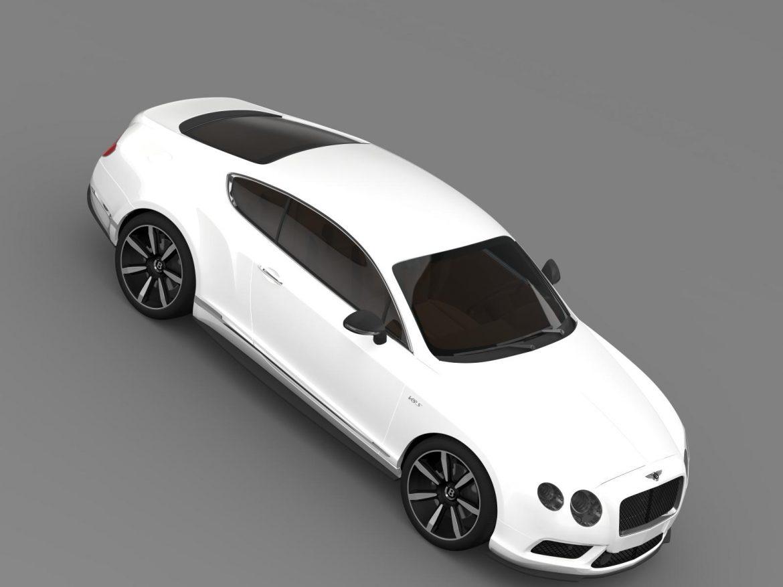 bentley continental gt v8 s coupe 2014 3d model 3ds max fbx c4d lwo ma mb hrc xsi obj 164069