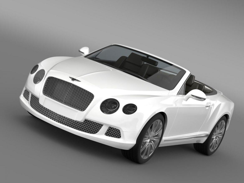 bentley continental gtc 2011 3d model 3ds max fbx c4d lwo ma mb hrc xsi obj 163884