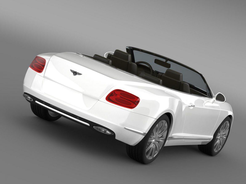 bentley continental gtc 2011 3d model 3ds max fbx c4d lwo ma mb hrc xsi obj 163885