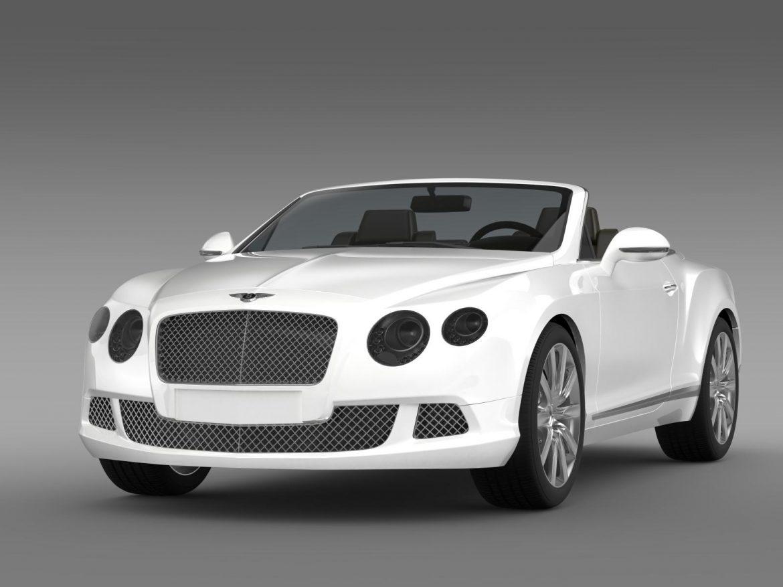 bentley continental gtc 2011 3d model 3ds max fbx c4d lwo ma mb hrc xsi obj 163886