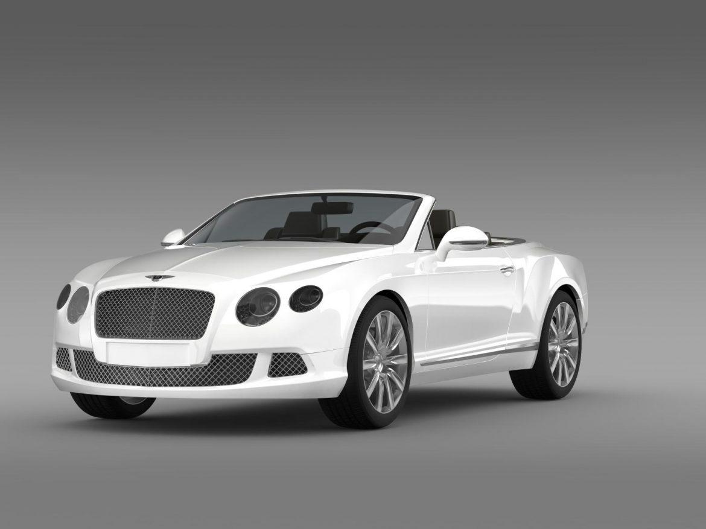 bentley continental gtc 2011 3d model 3ds max fbx c4d lwo ma mb hrc xsi obj 163887