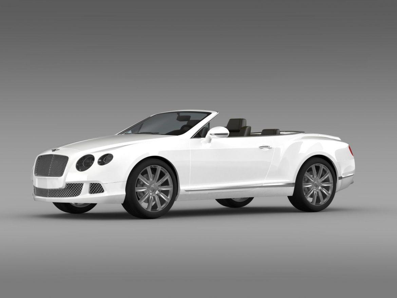 bentley continental gtc 2011 3d model 3ds max fbx c4d lwo ma mb hrc xsi obj 163888