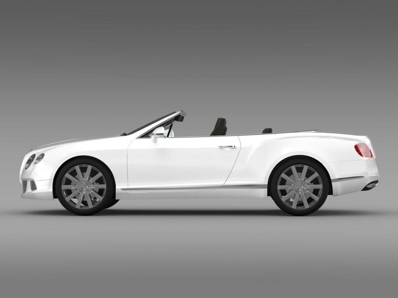 bentley continental gtc 2011 3d model 3ds max fbx c4d lwo ma mb hrc xsi obj 163889