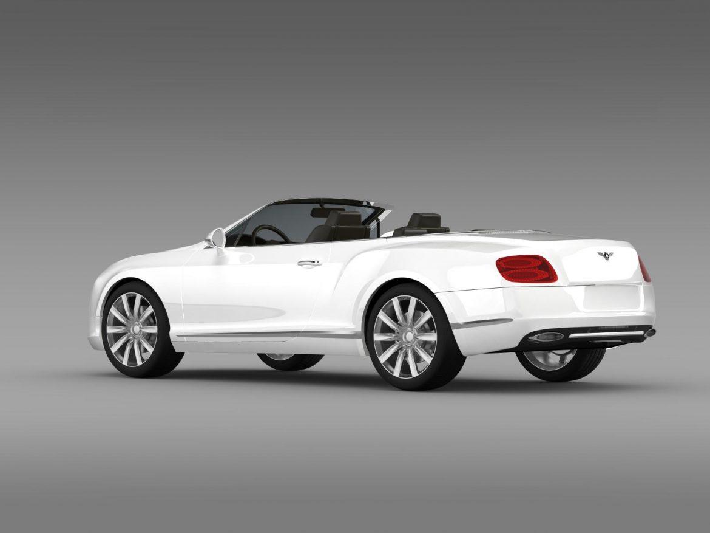 bentley continental gtc 2011 3d model 3ds max fbx c4d lwo ma mb hrc xsi obj 163890