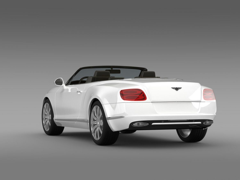 bentley continental gtc 2011 3d model 3ds max fbx c4d lwo ma mb hrc xsi obj 163891