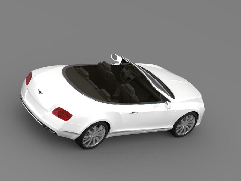 bentley continental gtc 2011 3d model 3ds max fbx c4d lwo ma mb hrc xsi obj 163893
