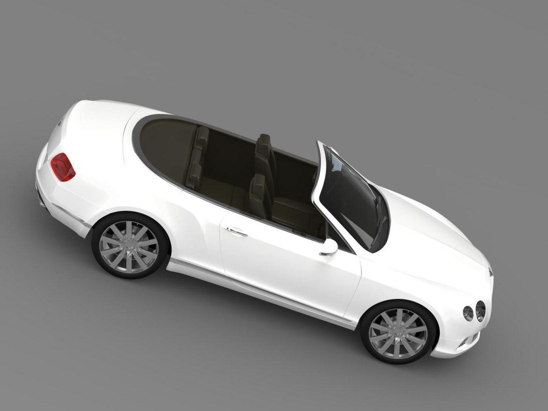 bentley continental gtc 2011 3d model 3ds max fbx c4d lwo ma mb hrc xsi obj 163894