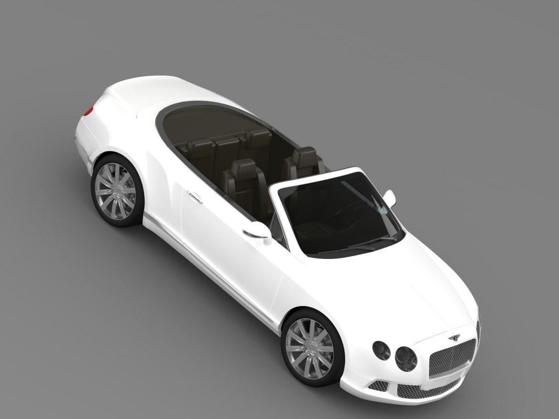 bentley continental gtc 2011 3d model 3ds max fbx c4d lwo ma mb hrc xsi obj 163895
