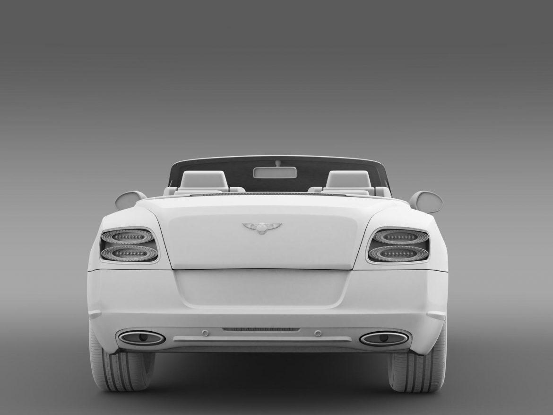 bentley continental gtc 2011 3d model 3ds max fbx c4d lwo ma mb hrc xsi obj 163897