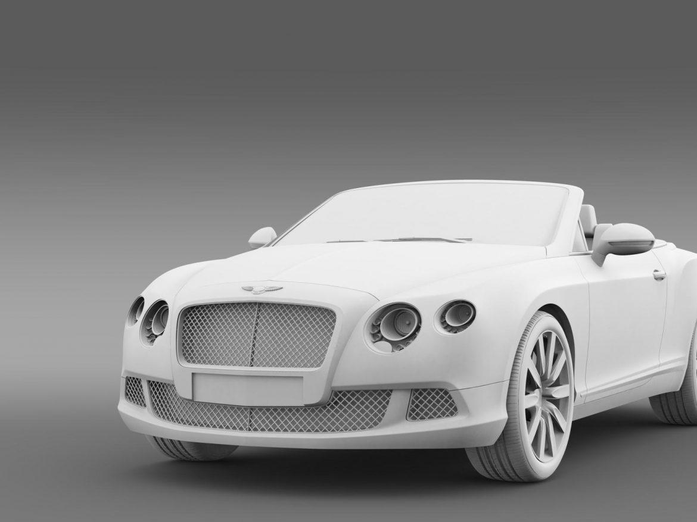 bentley continental gtc 2011 3d model 3ds max fbx c4d lwo ma mb hrc xsi obj 163898