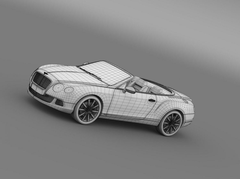 bentley continental gtc 2011 3d model 3ds max fbx c4d lwo ma mb hrc xsi obj 163900