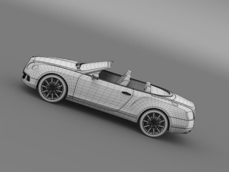 bentley continental gtc 2011 3d model 3ds max fbx c4d lwo ma mb hrc xsi obj 163901