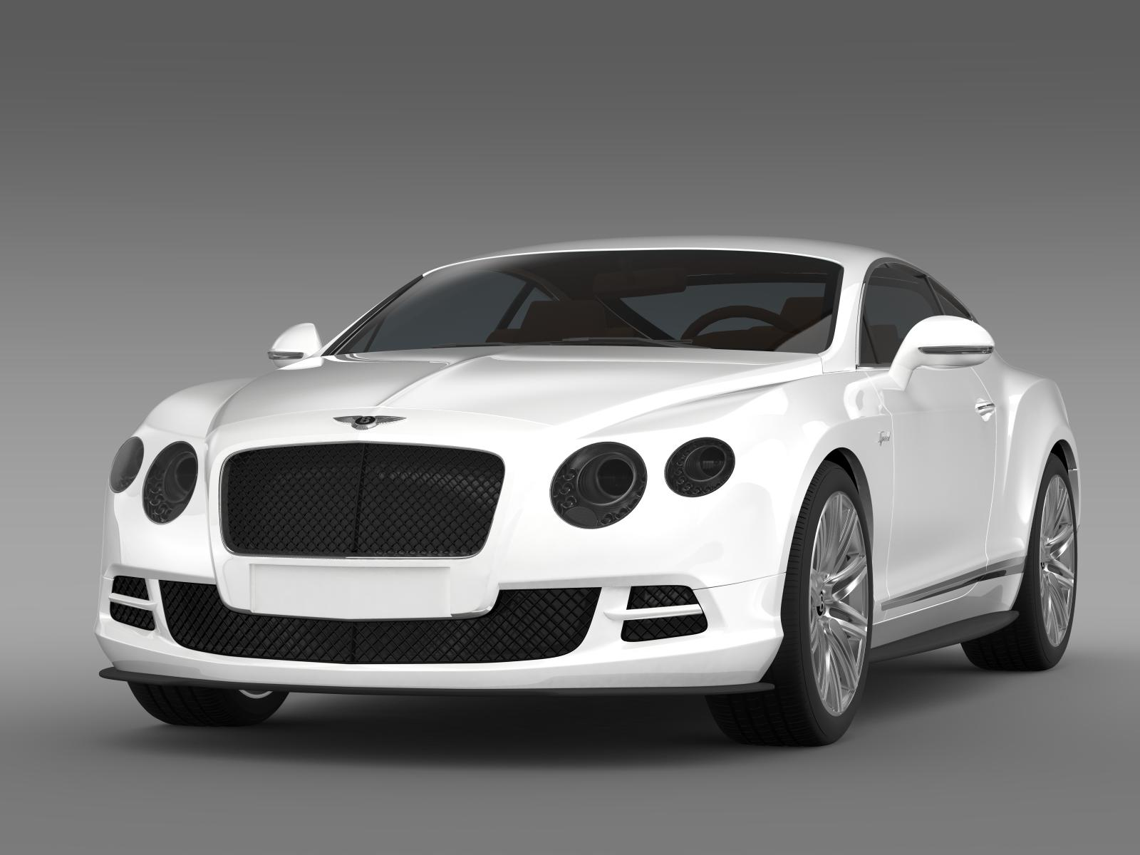 bentley continental gt speed 2014 3d model buy bentley continental gt speed 2014 3d model. Black Bedroom Furniture Sets. Home Design Ideas