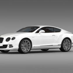 Bentley Continental GT Speed 2014 3D Model U2013 Buy Bentley Continental GT  Speed 2014 3D Model | FlatPyramid