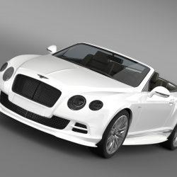 Bentley Continental GT Speed Convertible 2014 3D Model U2013 Buy Bentley  Continental GT Speed Convertible 2014 3D Model | FlatPyramid