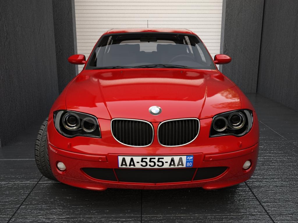 bmw series 1 3d model 3ds max fbx other obj 119037