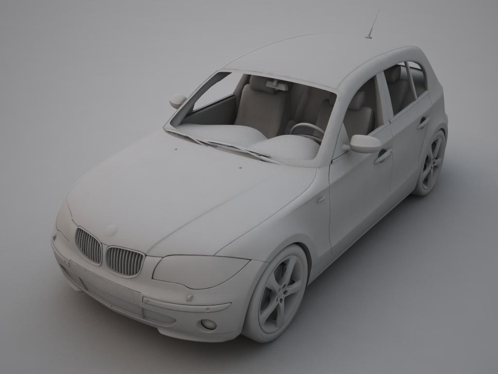 bmw series 1 3d model 3ds max fbx other obj 119042