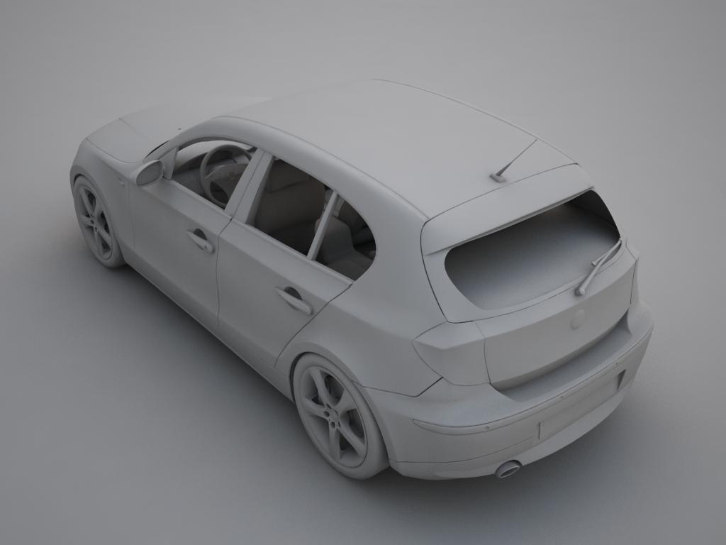 bmw series 1 3d model 3ds max fbx other obj 119044