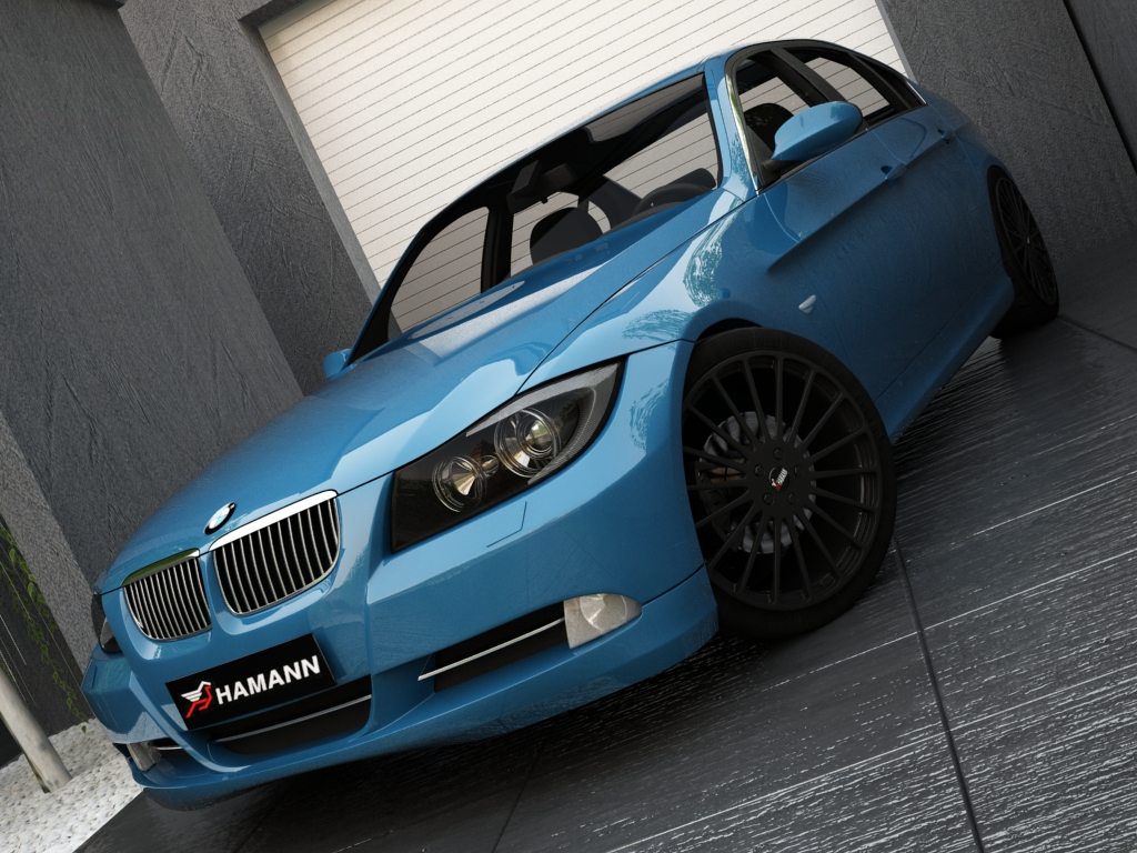 bmw series 3 3d model 3ds max other obj 119143