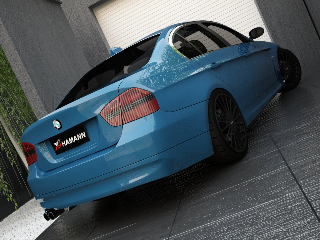 bmw series 3 3d model 3ds max other obj 119144