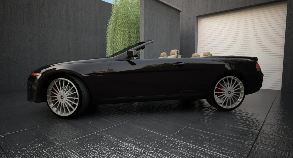 bmw sērija 6 kabriolets 3d modelis 3ds max citi obj 119394