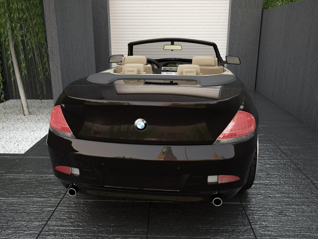 bmw sērija 6 kabriolets 3d modelis 3ds max citi obj 119396