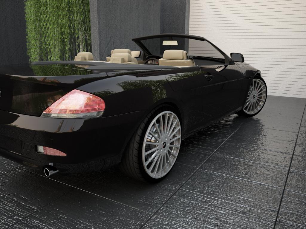bmw sērija 6 kabriolets 3d modelis 3ds max citi obj 119398