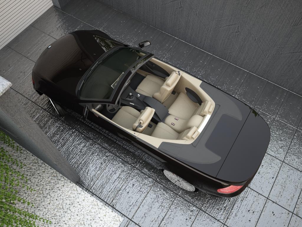 bmw sērija 6 kabriolets 3d modelis 3ds max citi obj 119399