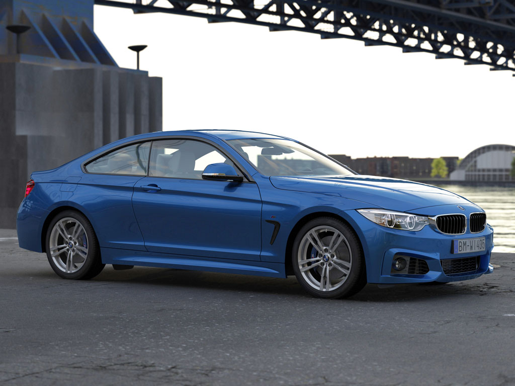 bmw 4 series coupe m sport 2014 3d model buy bmw 4 series coupe m sport 2014 3d model. Black Bedroom Furniture Sets. Home Design Ideas