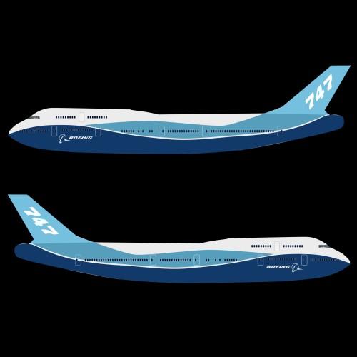 boeing aerlíne 747-300 múnla 3d 3ds fbx blend lwo obj 148774