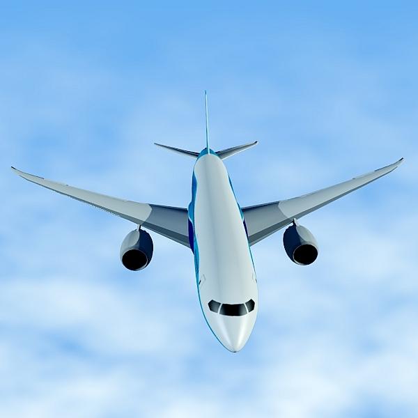 boeing 787-8 commercial airliner 3d model 3ds fbx blend lwo obj 138400