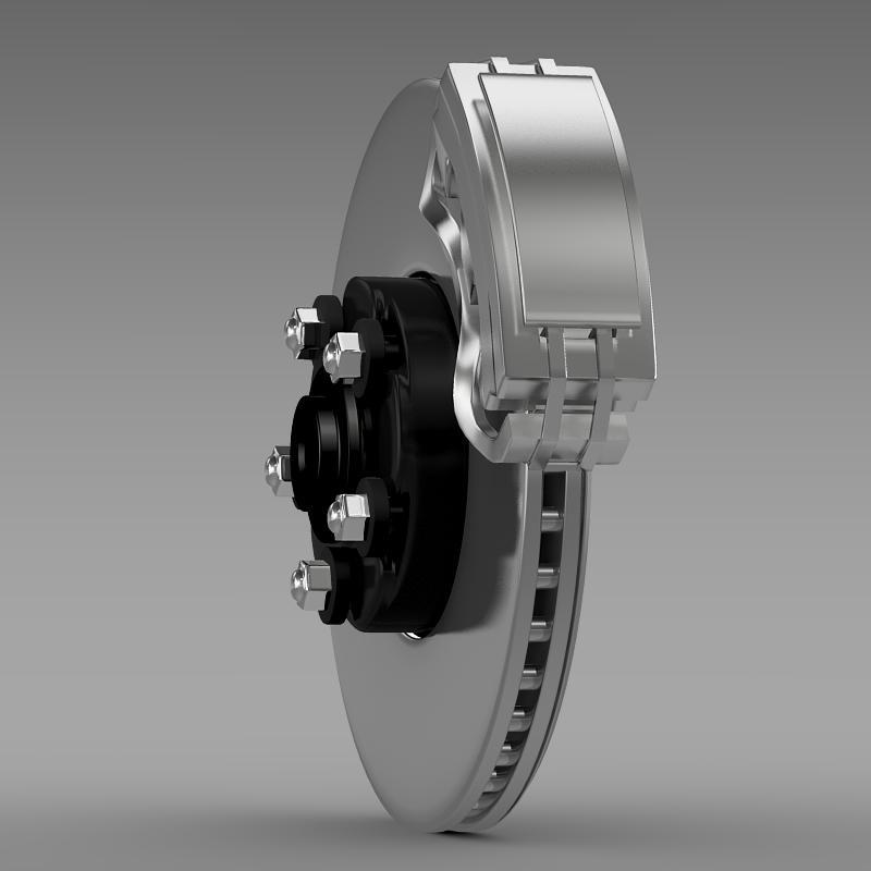 brake of ford mustang 3d model 3ds max fbx c4d lwo ma mb hrc xsi obj 141391