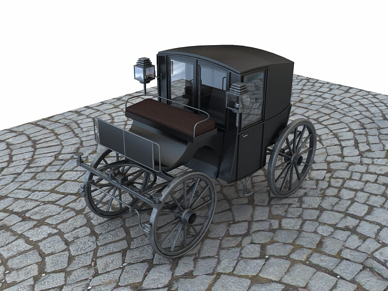 brougham 3d model max 141914