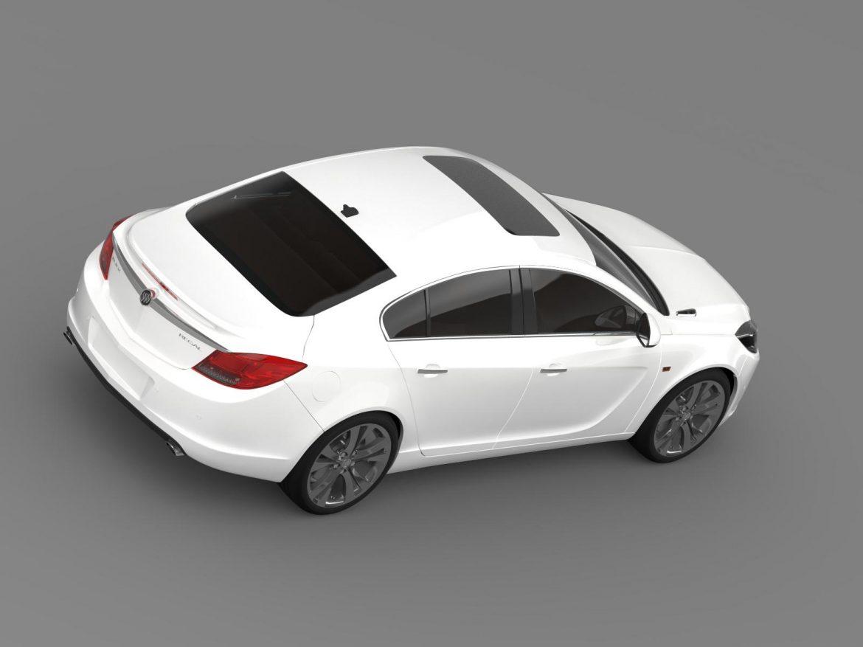 buick regal 2011-2013 3d model 3ds max fbx c4d lwo ma mb hrc xsi obj 165435