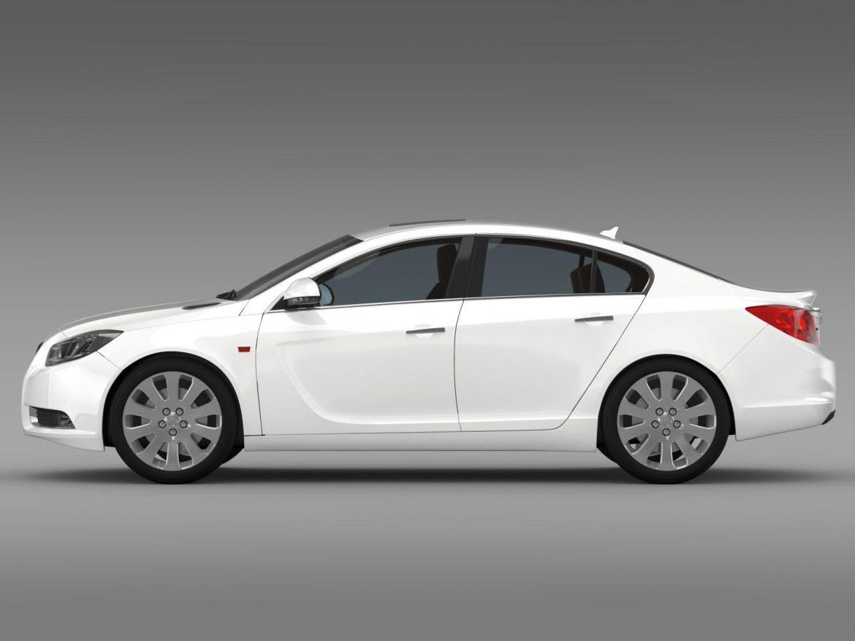 buick regal flexfuel 2011-2013 3d model 3ds max fbx c4d lwo ma mb hrc xsi obj 165449