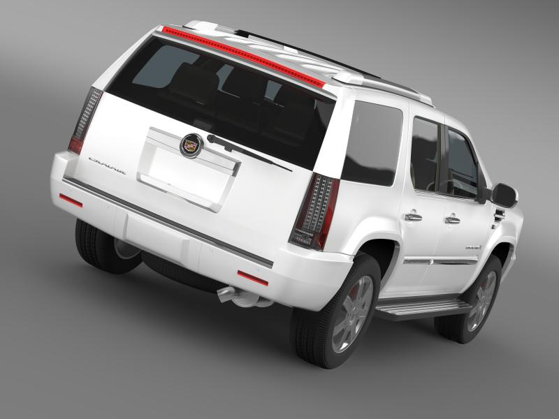 cadillac escalade european version 3d model 3ds max fbx c4d lwo ma mb hrc xsi obj 150126