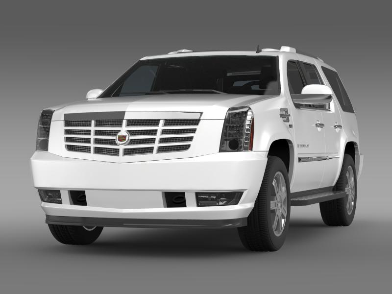 cadillac escalade european version 3d model 3ds max fbx c4d lwo ma mb hrc xsi obj 150127