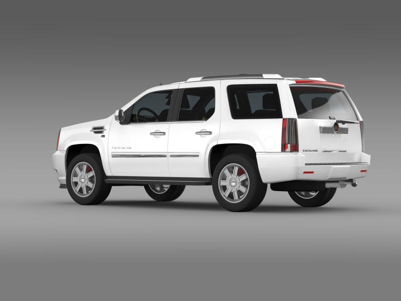 cadillac escalade european version 3d model 3ds max fbx c4d lwo ma mb hrc xsi obj 150131