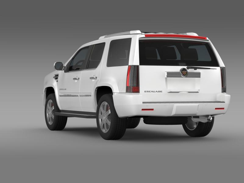 cadillac escalade european version 3d model 3ds max fbx c4d lwo ma mb hrc xsi obj 150132