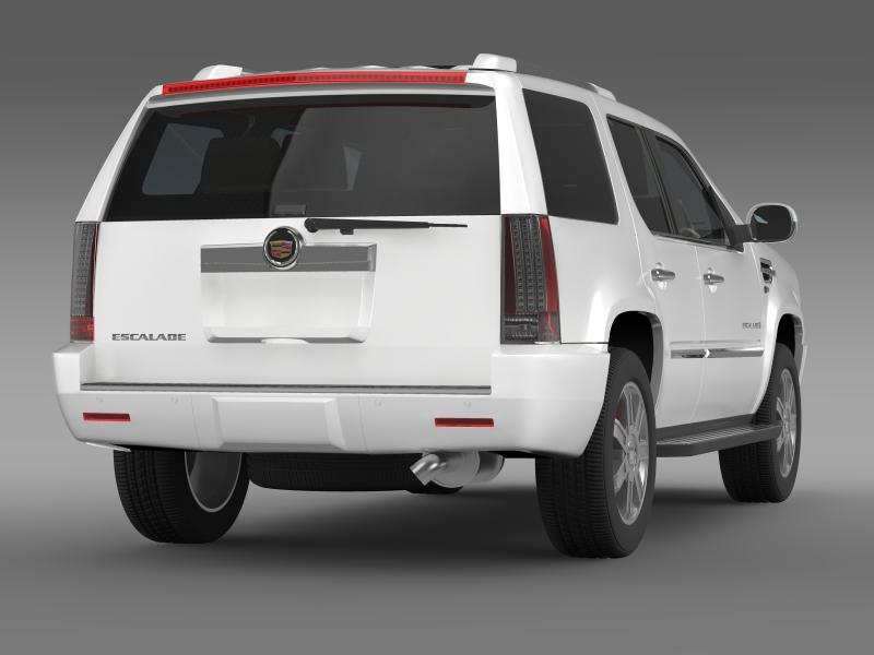 cadillac escalade european version 3d model 3ds max fbx c4d lwo ma mb hrc xsi obj 150133