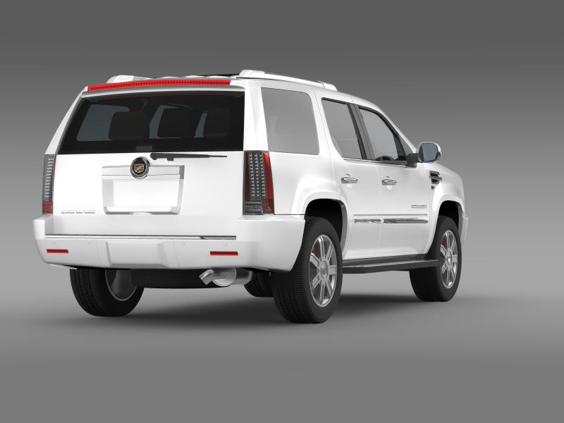 cadillac escalade european version 3d model 3ds max fbx c4d lwo ma mb hrc xsi obj 150134