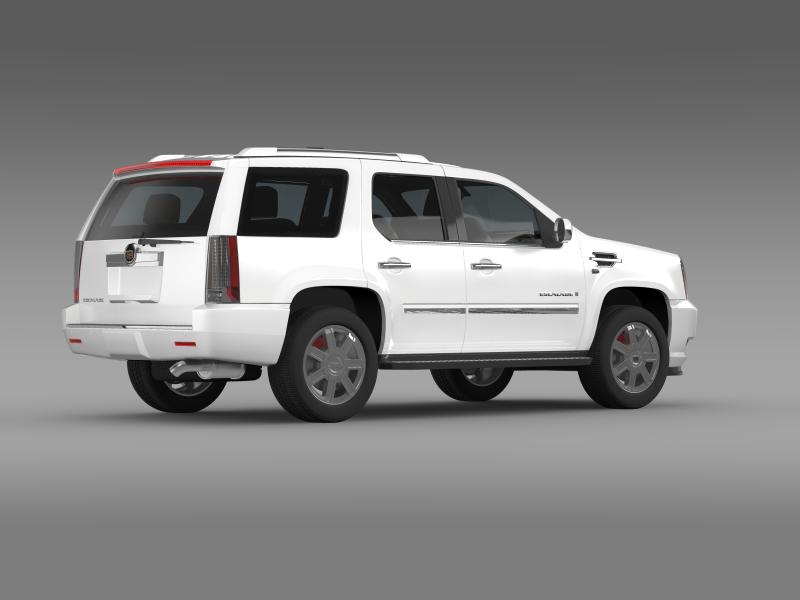 cadillac escalade european version 3d model 3ds max fbx c4d lwo ma mb hrc xsi obj 150135